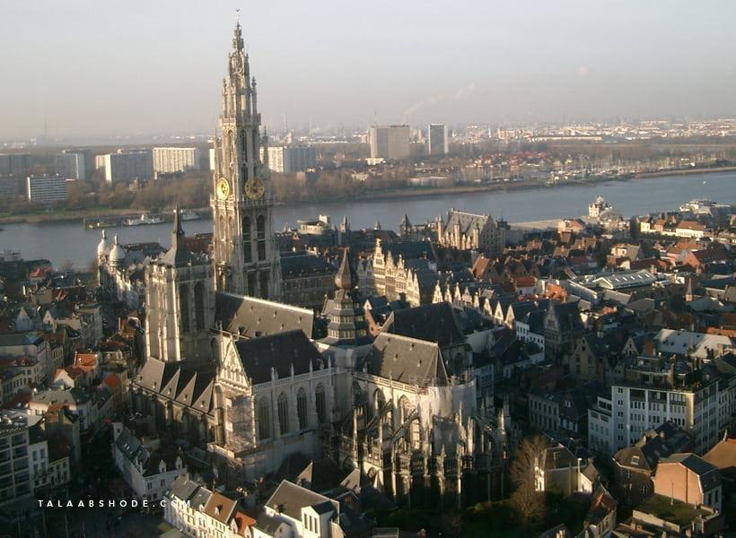 پایخت الماس جهان آنتورپ Antwerp