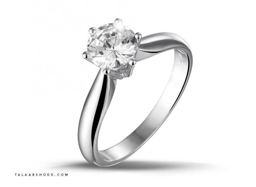 حلقه نامزدی الماس به رنگ G